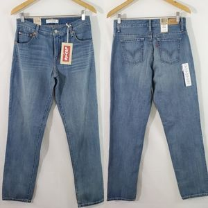 NEW LEVI'S 6 Long Relaxed Tapered 550 Jeans Sz 6